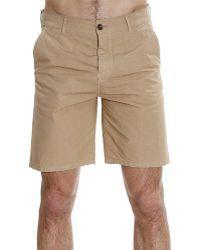 Iceberg   Trouser Pants Short Chino Gabardine   Lyst