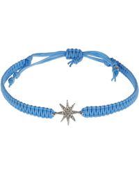 Tai - Blue Starburst Macrame Bracelet - Lyst