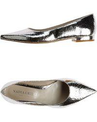 Nadia Grilli Ballet Flats - Lyst