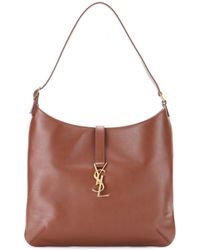 Saint Laurent Monogramme Leather Shoulder Bag - Lyst
