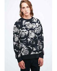 Worland - Rose Sweatshirt In Black - Lyst
