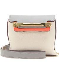 Chloé Clare Mini Leather Shoulder Bag - Lyst