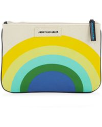 Jonathan Adler Sunrise Pouch - Natural