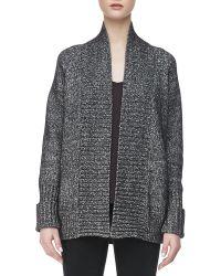 J Brand Ivanka Marled Knit Sweater - Lyst