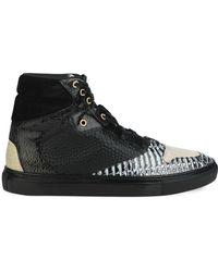 Balenciaga Multi-Panel High-Top Sneakers - Lyst