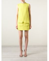 Giambattista Valli Pocket Shift Dress - Lyst