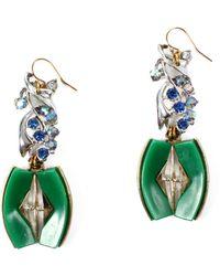 Lulu Frost 100 Year Earring #1 green - Lyst