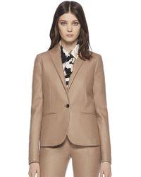 Gucci Stretch Flannel Jacket - Lyst