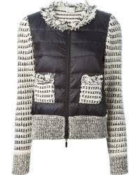 Moncler Padded Tweed Jacket - Lyst
