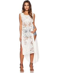 Free People Never Enough Maxi Dress - Lyst