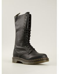 Dr. Martens Side Zip Boots - Lyst