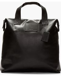 Common Projects - Black Supple Leather Tote - Lyst