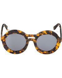 Karen Walker Round Sunglasses - Lyst