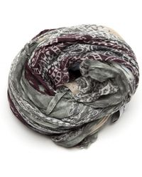 Yigal Azrouël Paisley Patchwork Scarf multicolor - Lyst