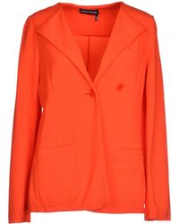 Sonia Rykiel Blazer orange - Lyst