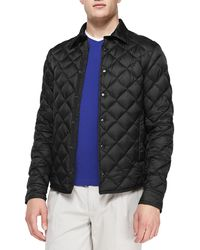 Moncler Frederic Diamond Quilted Jacket - Lyst