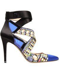 Nicholas Kirkwood Blue Sandals - Lyst