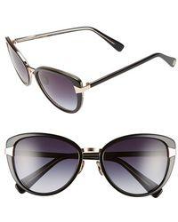 Oscar de la Renta - '219' 55mm Cat Eye Sunglasses - Lyst