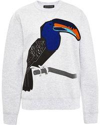 Ostwald Helgason Toucan Sweatshirt - Lyst