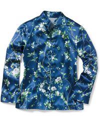 Michael Kors - Mandarin Evening Pajama Shirt - Lyst