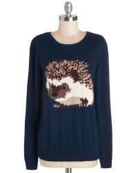 Sugarhill - Hedgehogs And Kisses Sweater - Lyst