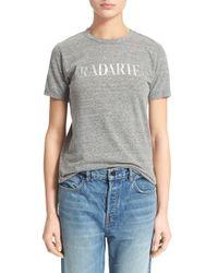 Rodarte | 'radarte' Short Sleeve Crewneck Tee | Lyst