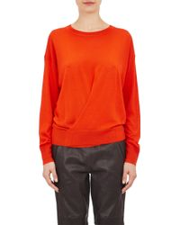Isabel Marant Crossover-Wrap Ben Sweater - Lyst