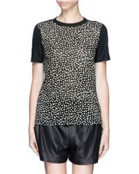 Tory Burch Esma Dot Print Tshirt - Lyst