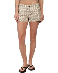 The North Face Beige Maywood Short - Lyst