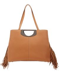 Christian Louboutin Passage Tote beige - Lyst