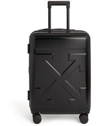 FABRIX Off-white Arrows Embossed Black Suitcase