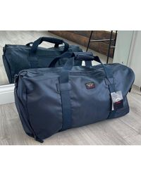 FABRIX Paul & Shark Navy Duffel Bag - Blue