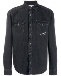 Givenchy Signature Shirt Paris Stamp - Black