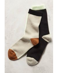 Hansel From Basel Mismatched Crew Socks - Lyst