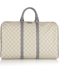 Gucci Joy Travel Coated-canvas Duffle Bag - Lyst