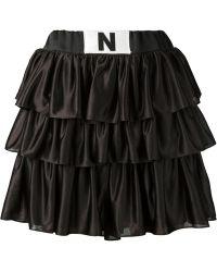 Nicopanda - Ruffled Shorts - Lyst