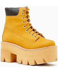 Nasty Gal Nirvana Boot - Lyst