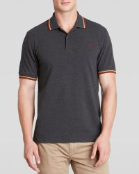 Fred Perry Tipped Logo Polo- Slim Fit - Lyst