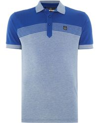 Duck and Cover - Flux Polo Shirt - Lyst