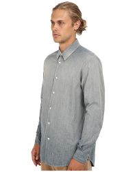 Marc Jacobs Runway Chambray Button Up - Lyst