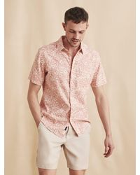 Faherty Brand - Short-sleeve Breeze Shirt - Lyst