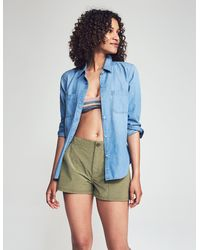 Faherty Brand All Day Short - Green