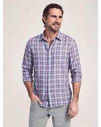 Faherty Brand Cloud Cottontm Everyday Shirt - Blue