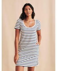 Faherty Brand Merritt Dress - Blue