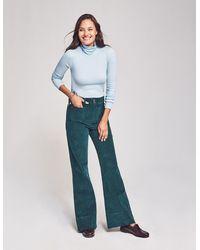 Faherty Brand Phoebe Pant - Blue