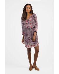 Faherty Brand - Silk Hannah Dress - Lyst