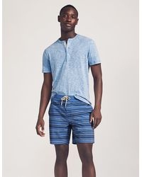 "Faherty Brand Classic Boardshort (7"" Inseam) - Blue"