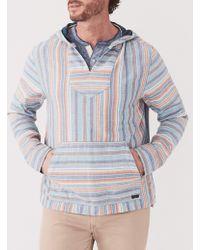 Faherty Brand - Doublecloth Baja Poncho - Lyst