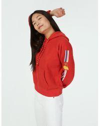 Faherty Brand Sunrise Hoodie - Red