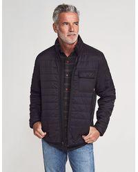 Faherty Brand Atmosphere Packable Zip Jacket - Black